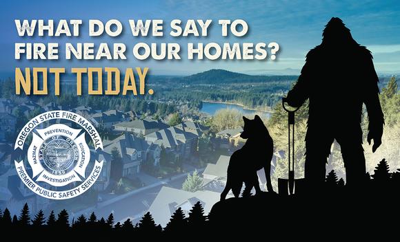 Help Bigfoot Prevent Wildfires