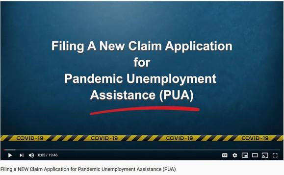 PUA application video