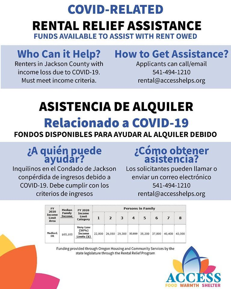 ACCESS, Inc. Rental Relief Assistance