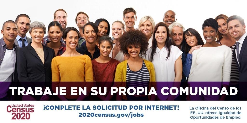 Census Jobs in Spanish