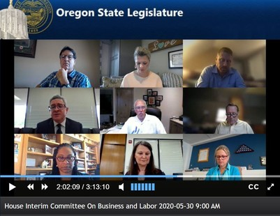 House Committee on Business and Labor