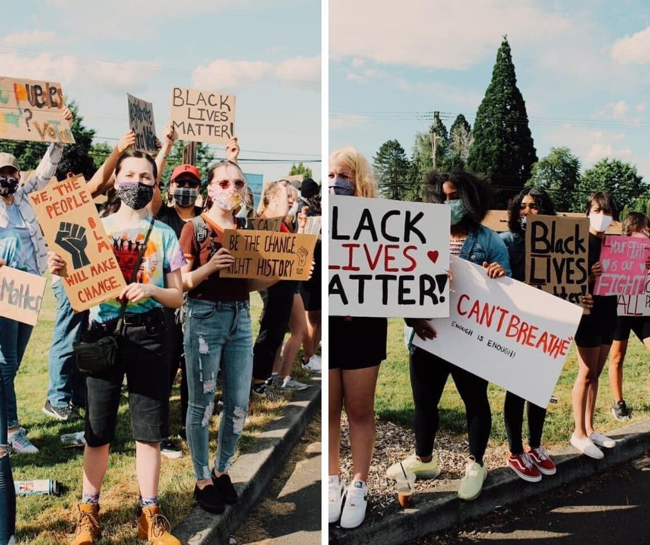 In Defense of Black Lives-Forest Grove