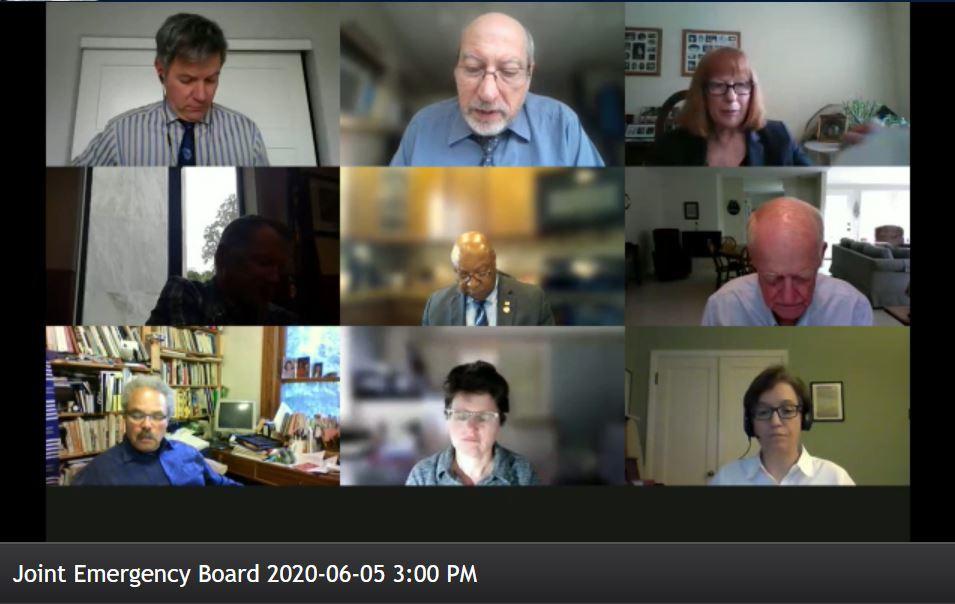 Emergency Board, June 5th