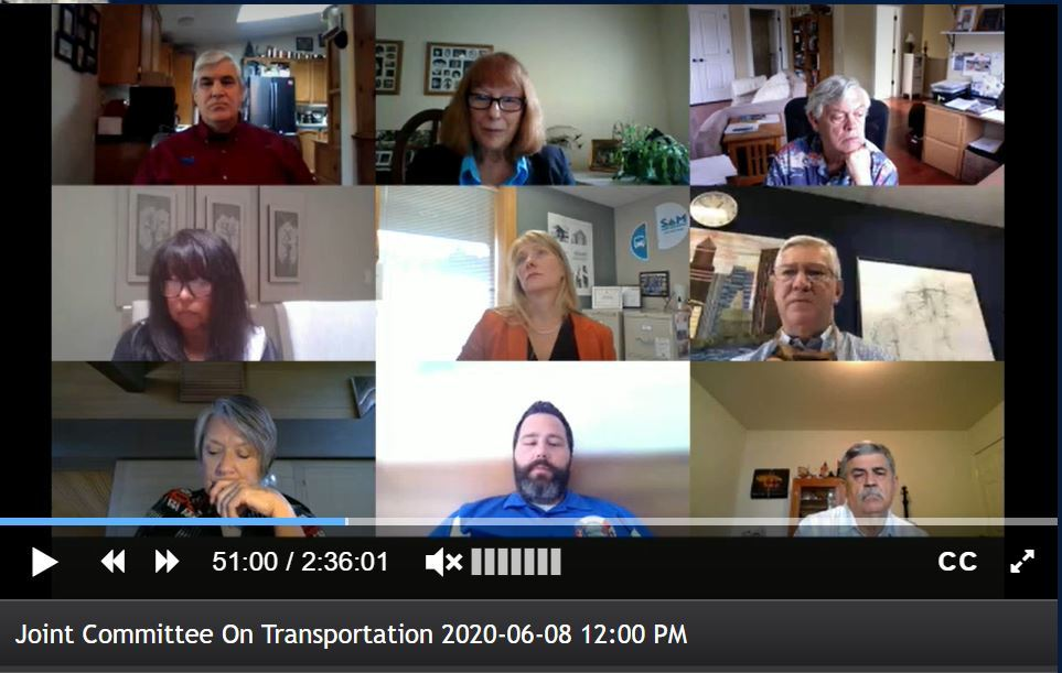 Joint Committee on Transportation, June 8th