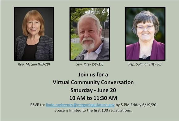 Virtual Community Conversation