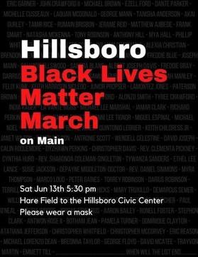 Black Lives Matter-Hillsboro