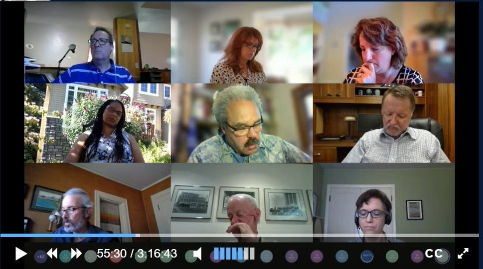 Remote committee meeting