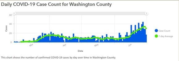 Washington County Case Data