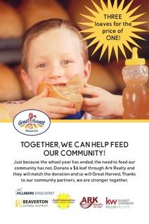 Donate bread