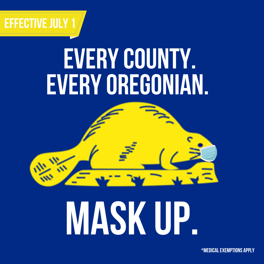 Every Oregonian Mask Up