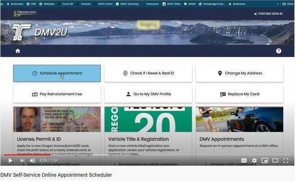 Online Scheduling at the DMV