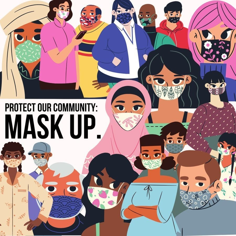 Protect our Community by Wearing a Mask