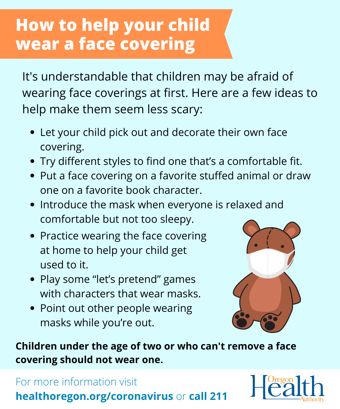 Helping Kids with MAsks