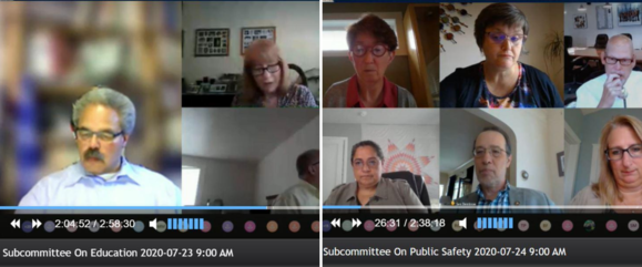 Subcommittee Hearings July 22-24