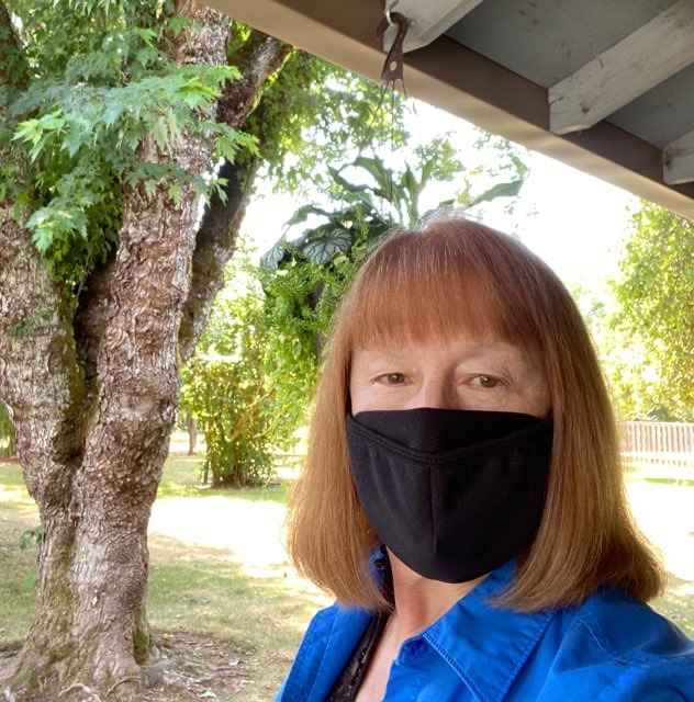 Susan Selfie with Mask
