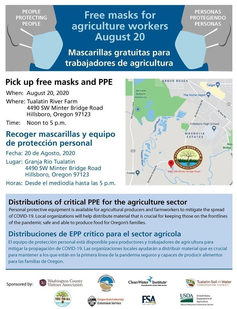 Free PPE for Ag Workers