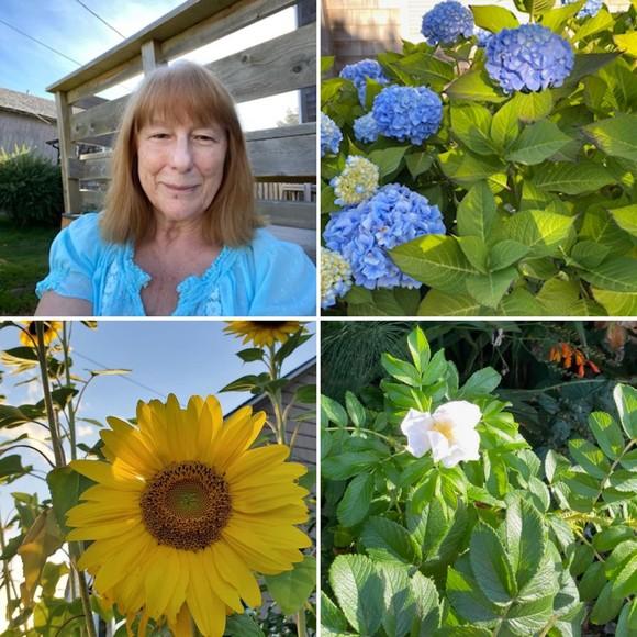 Susan + flowers