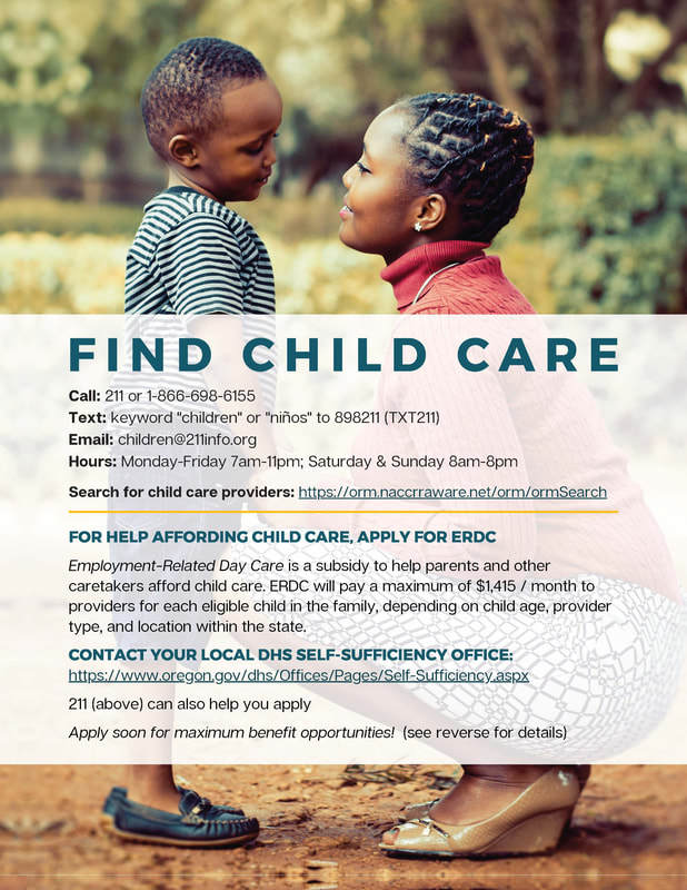 Childcare Flyer