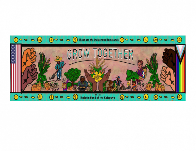 Grow Together, Forest Grove Mural