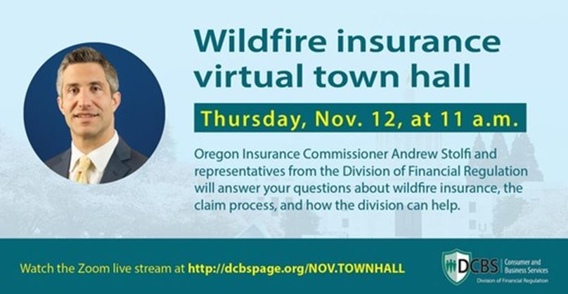 Insurance Town Hall Flyer