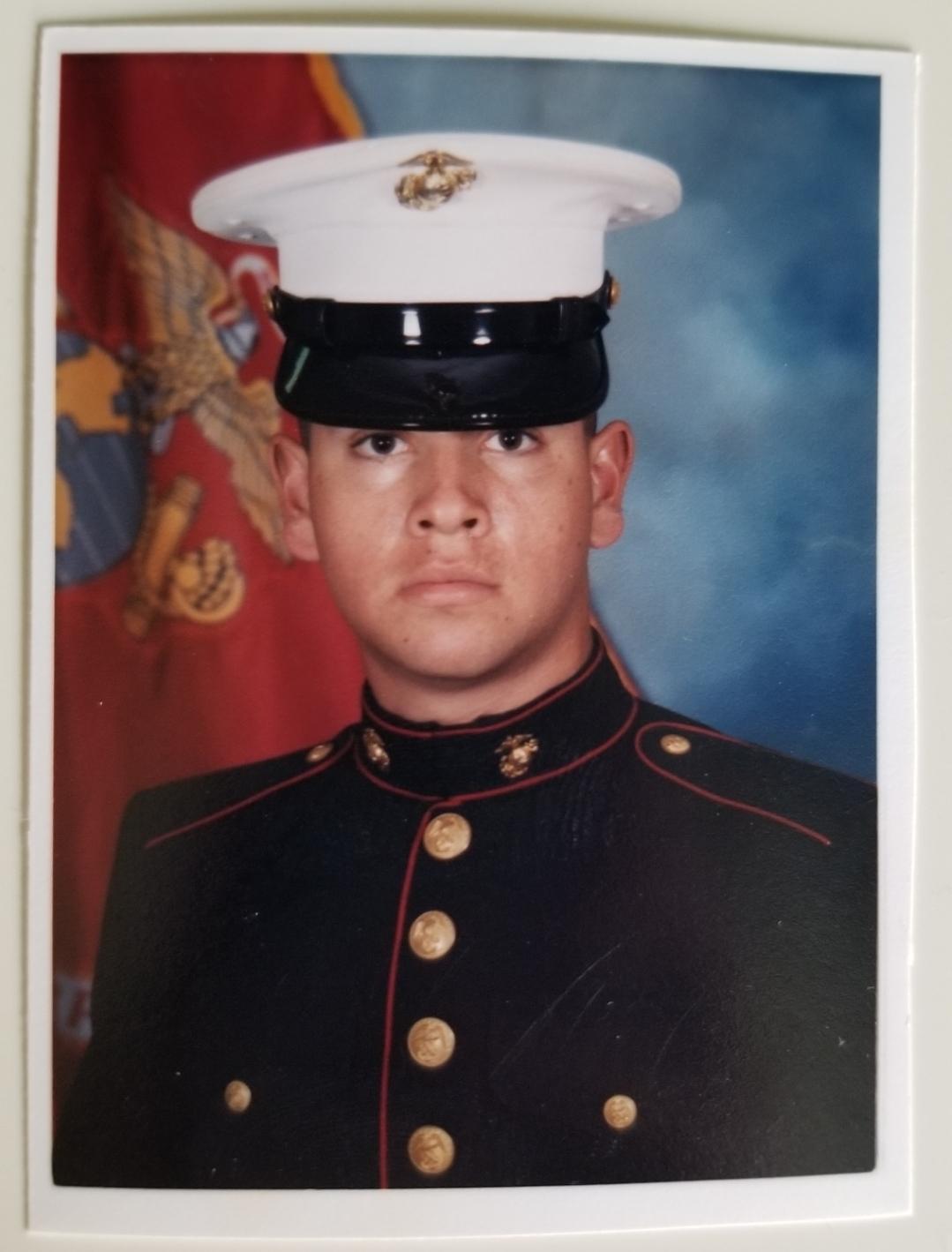 Noel Vargas, Marine Sergeant E-5 (1996-2000)