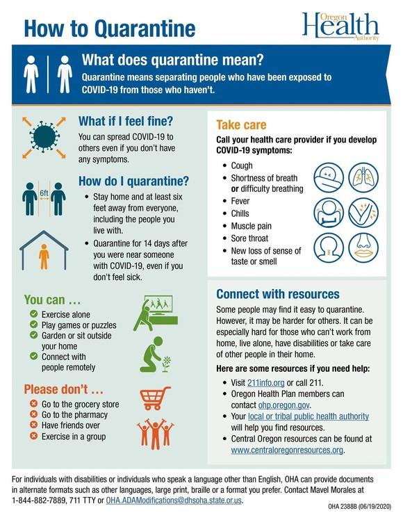 Quarantine Graphic