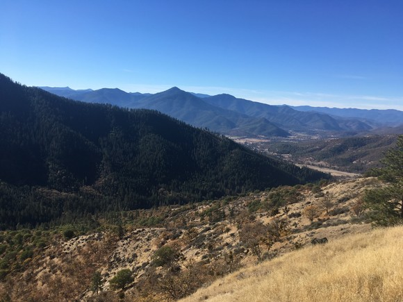 View from East Applegate Ridge Trail