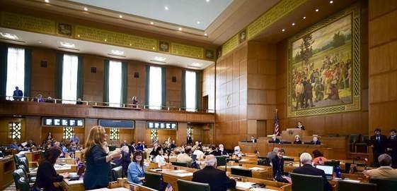 Oregon House of Representatives Floor