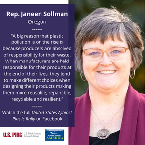 US Against Plastic Rally
