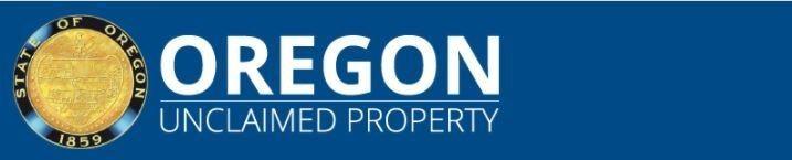 Oregon Unclaimed Property Banner
