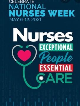 Nurse's appreciation week