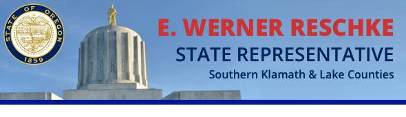 State Representative E. Werner Reschke