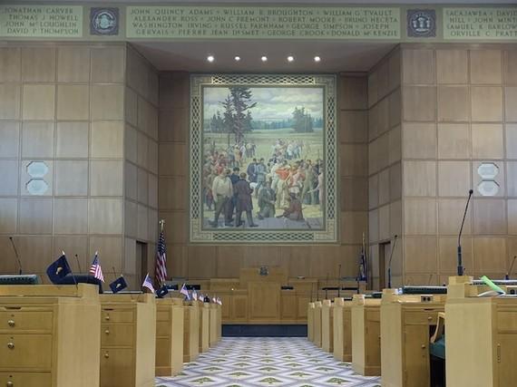 Oregon House Floor