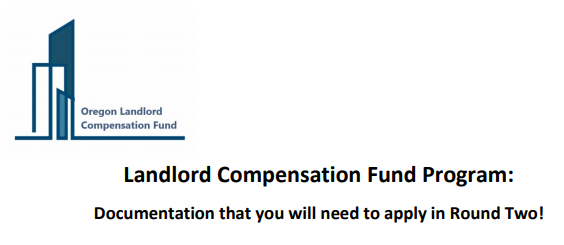 Landlord Compensation Fund Documents Needed For Round 2
