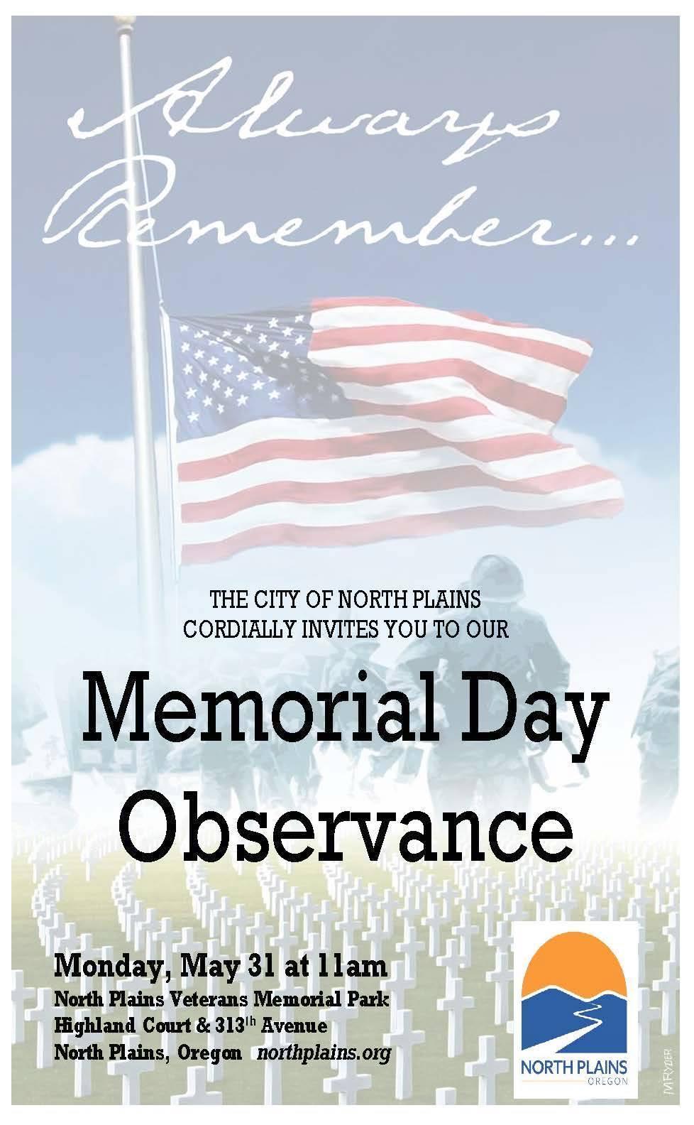 NP Memorial Day