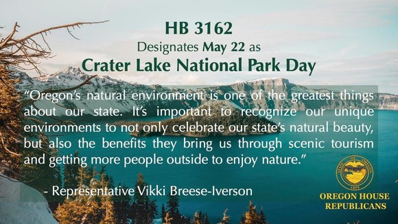crater lake day