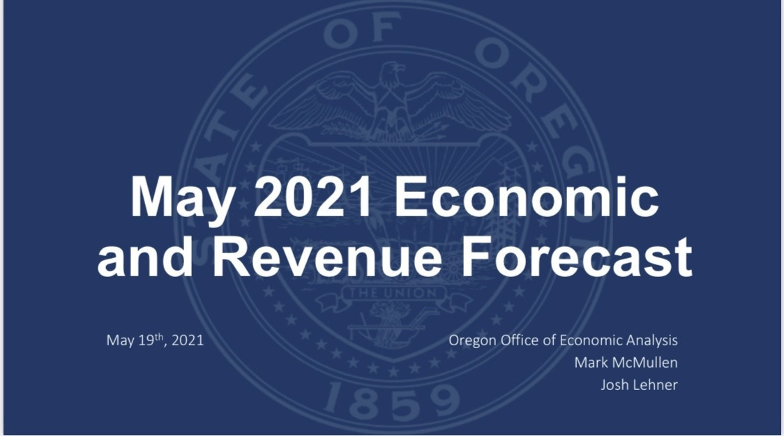 May 2021 Economic and Revenue Forecast Graphics