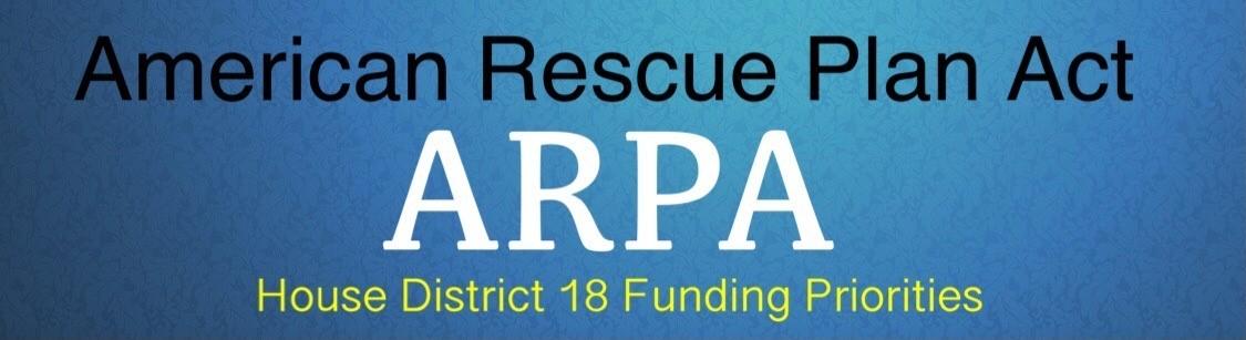 ARPA Funding Priorities HD 18 Graphics
