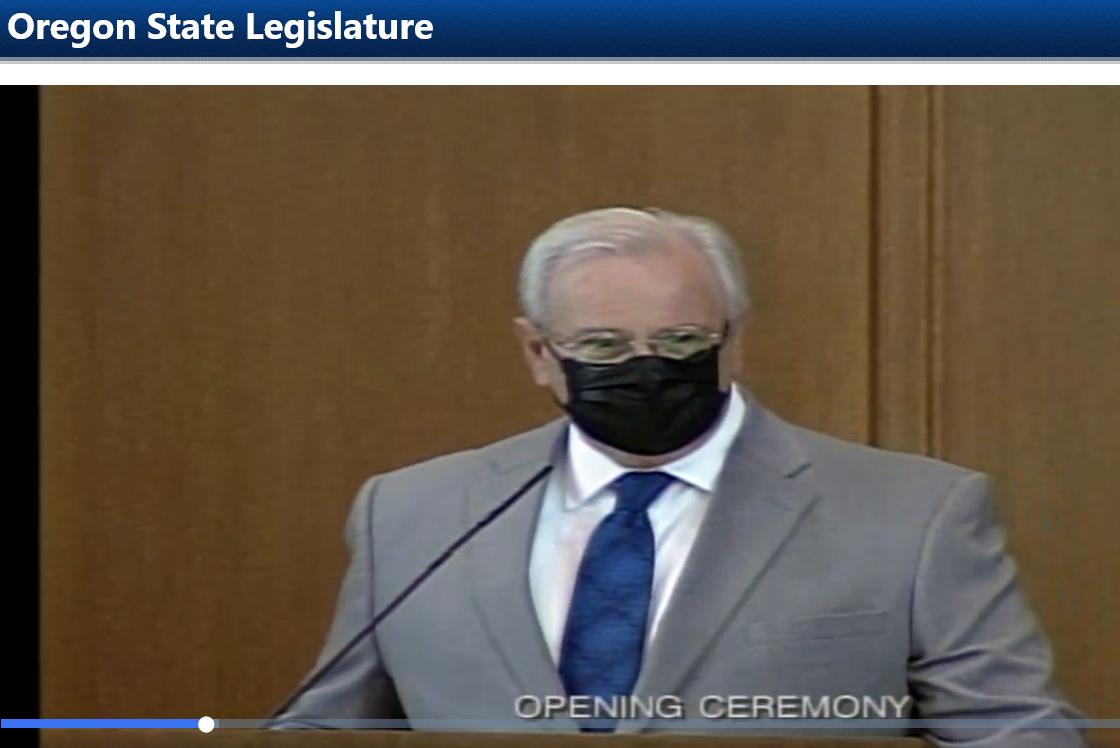 Rep. Gomberg on House floor