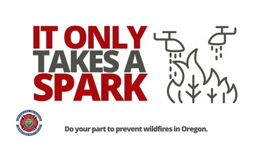 Forest fire prevention - it only takes a spark