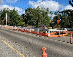 Photo of OR 211- Pedestrian and Bike Improvements Project in Molalla