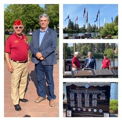 Bend Heroes Memorial and Central Oregon Veterans Village Tour with Commander Oxford Photo