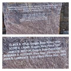 Bend Heroes Memorial Monument