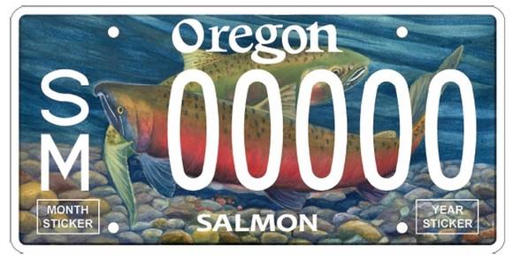New Salmon Plate
