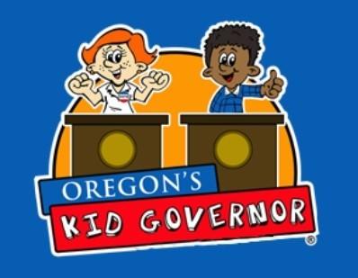 Oregon Kid Governor Graphic