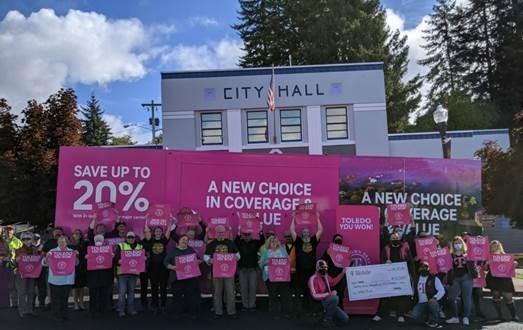 T-Mobile Grant Event in Toledo