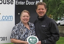 Sven Anderson and fellow Master Recycler Carla Jeannette