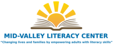 Mid-Valley Literacy logo