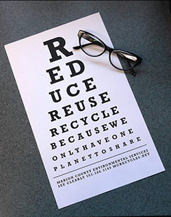 What's your vision? Eyechart