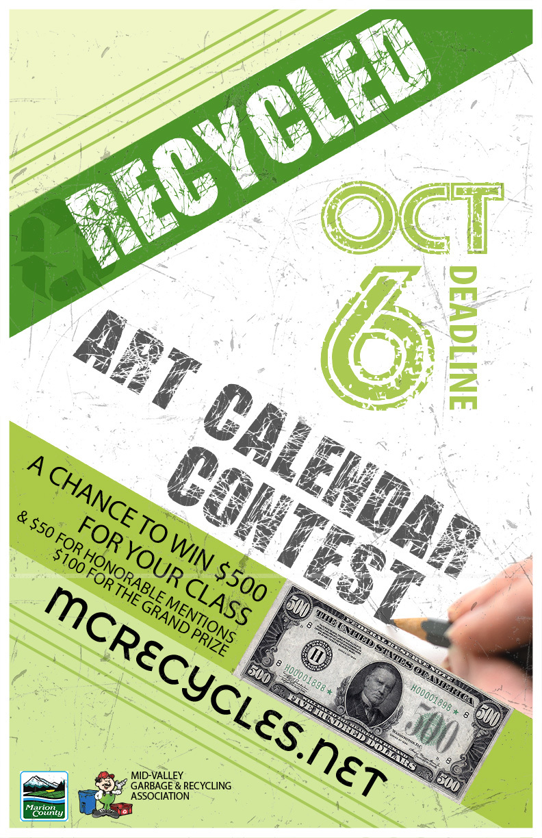 Recycled Art Calendar Contest